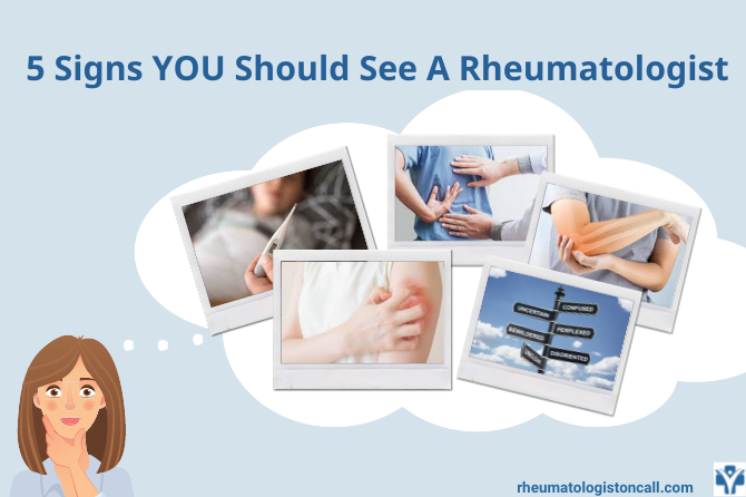Five signs that you should see the rheumatologist